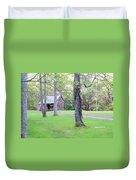 Dogwood Cabin Duvet Cover
