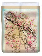 Dogwood Canvas 3 Duvet Cover