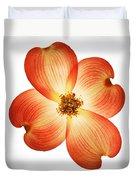 Dogwood Flower Duvet Cover