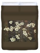 Dogwood Winter Duvet Cover