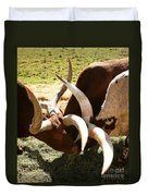 Doing The Watusi Duvet Cover