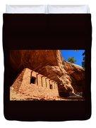 Doll House Anasazi Ruin Duvet Cover