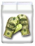 Dollar Gloves-2 Duvet Cover