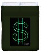 Dollar Sign Duvet Cover