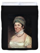 Dolley Payne Todd Madison (1768-1849) Duvet Cover