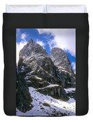 Dolomite Twin Peaks Duvet Cover