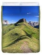 Dolomites - Crepa Neigra Duvet Cover
