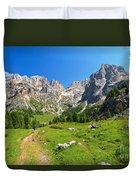 Dolomiti - Contrin Valley Duvet Cover