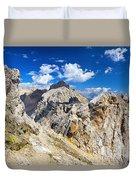 Dolomiti - Costabella Mount Duvet Cover