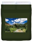 Dolomiti - Fassa Valley Duvet Cover