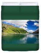 Dolomiti - Fedaia Lake Duvet Cover