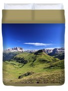 Dolomiti - High Fassa Valley Duvet Cover