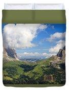 Dolomiti - Sella Pass Duvet Cover