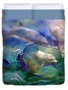 Dolphin Dream Duvet Cover