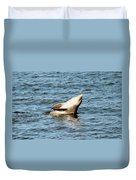 Dolphin Playing Duvet Cover