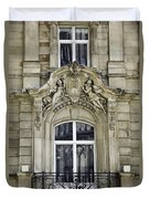 Dom Hotel Balcony Window Cologne Germany Duvet Cover