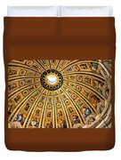Dome Of St Peter's Basilica Vatican City Italy Duvet Cover