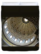 Dome Of St. Peter's Rome Duvet Cover