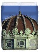 Dome Top Of Carousel House Asbury Park Nj Duvet Cover