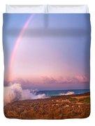 Dominican Rainbow Duvet Cover