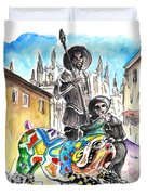 Don Quijotes New Pet Duvet Cover