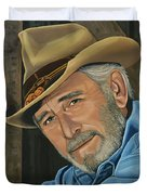 Don Williams Painting Duvet Cover