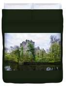 Donegal Castle In Donegaltown Ireland Duvet Cover