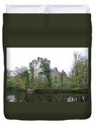 Donegal Castle Ruins Duvet Cover