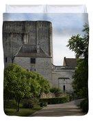 Donjon Loches - France Duvet Cover