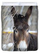 Donkey Duvet Cover