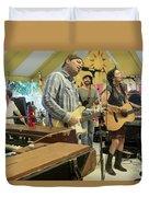 Donna The Buffalo Duvet Cover
