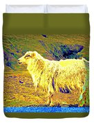 Dont Be Sheep, You Said, But I Just Can't Help It Duvet Cover