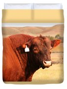 Dont Mess With The Bull Duvet Cover
