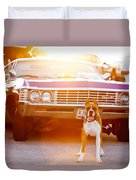 Don't Touch My Ride Duvet Cover