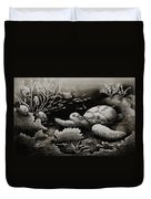 Doomed Sea Life Duvet Cover