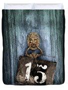 Door 15 Duvet Cover by Carlos Caetano