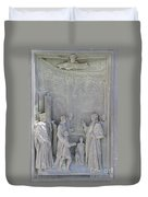 Door Detail Cathedral Siena Duvet Cover