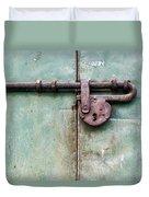 Door Lock Duvet Cover