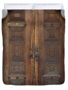 Door Of The Topkapi Palace - Istanbul Duvet Cover