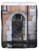 Door On The River Duvet Cover