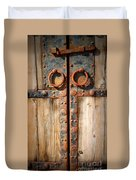 Door To Ancient Secrets Duvet Cover