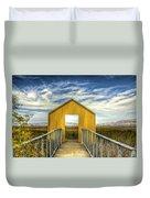 Door To The Marshlands Duvet Cover