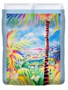 Door To The Paradise Duvet Cover