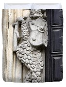 Door Warrior Duvet Cover