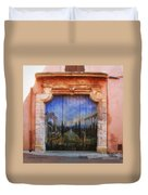 Door With A View Duvet Cover