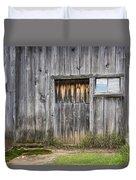 Barn Door With A Window Duvet Cover