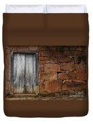 Doors And Windows Minas Gerais State Brazil 3 Duvet Cover