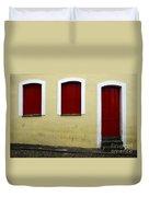 Doors And Windows Salvador Brazil 1 Duvet Cover