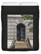 Doors Of Albany 3 Duvet Cover