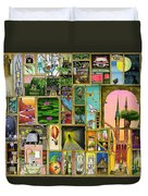 Doors Open Duvet Cover by Colin Thompson